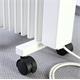 Thermotec Fahruntersatz / Rollen für Aero-Flow Elektroh Pic:1