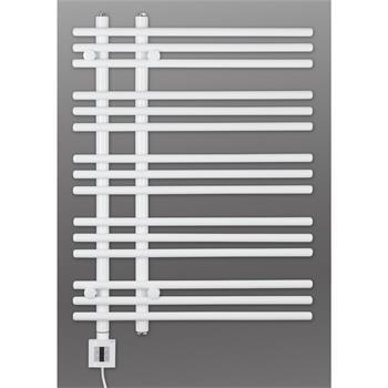 Design Elektrobadheizkörper Barsa 800h x 500b in weiss