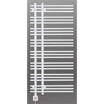 Design Elektrobadheizkörper Barsa 1300h x 500b in weiss