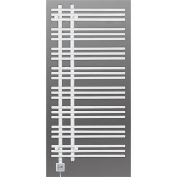 Design Elektrobadheizkörper Barsa 1300h x 600b in weiss