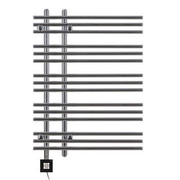 Design Elektrobadheizkörper Barsa 800h x 600b in chrom