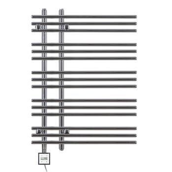 Design Elektrobadheizkörper Barsa 800h x 500b in chrom