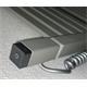 elektrischer Handtuchheizkörper Marlin one 1185h x 600b Farbe: metallic stone