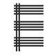 elektrischer Handtuchheizkörper Terra 850h x 500b schwarz/matt