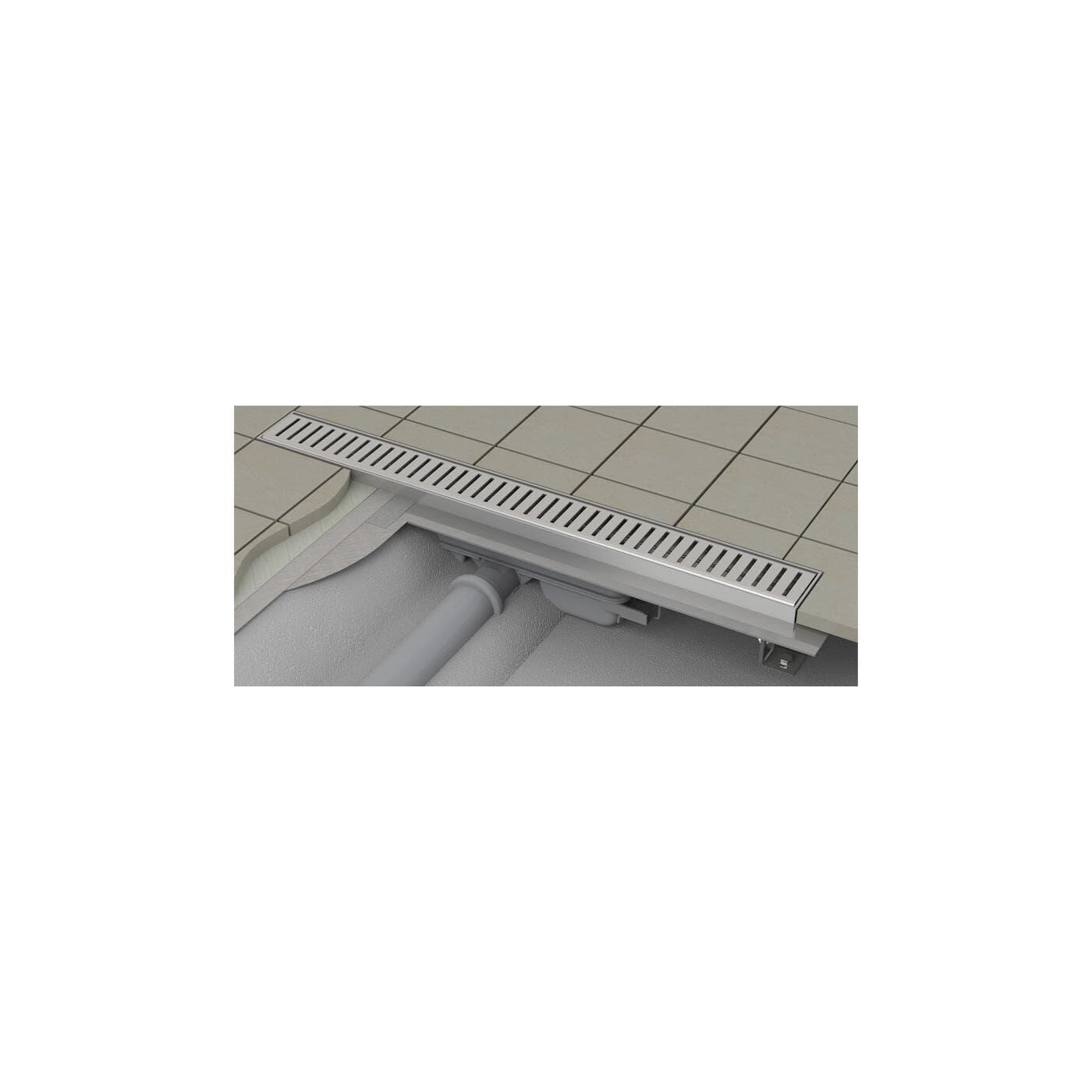Duschrinne 55mm Einbautiefe